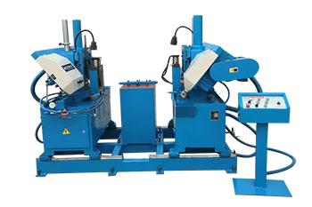 V450/40双锯条立式带锯机