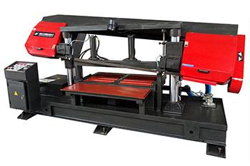 板材专切GZ4240/120双立柱卧式金属带锯床