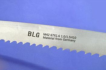 BLG M42 67x1.1mm带锯条